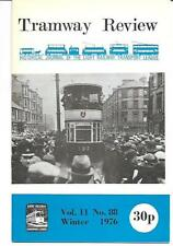 Tramway Review Magazine Vol. 11 No.88 Winter 1976 SN