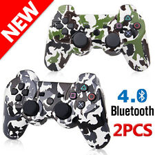 2x NEW Style Bluetooth 4.0 Wireless Bluetooth Game Joypad For PS3 Controller