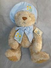 """Bnwt neuf avec étiquettes harrods daffodil pâques printemps grand ours 13"""" (33cm)"""