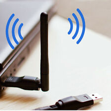 USB 2.0 Wireless Network Ethernet Adapter WiFi Cordless 150Mbps w/ Antenna HG