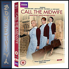 CALL THE MIDWIFE - COMPLETE SERIES 4 PLUS 2014 XMAS SPECIAL  **BRAND NEW DVD***