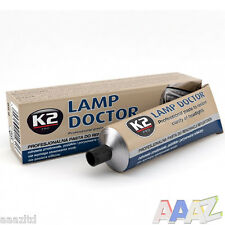 K2 Pro Lamp Doctor Paste Restore Clarity Scratched Headlights Lenses Headlight