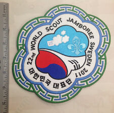 22nd World Scout Jamboree KOREA CONTINGENT JACKET PATCH 2011
