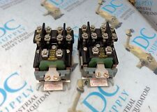 CANADIAN GENERAL ELECTRIC CR2810A14AC 110 V CONTACTOR LOT OF 2