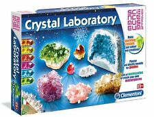 Clementoni CRYSTAL LABORATORY Lots of Experiments SCIENCE MUSEUM Approved