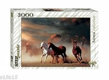 PUZZLE 3000 pcs HORSES. ANIMAL COLLECTION