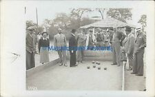 SPORTS BOWLS BOCHAS REAL PHOTO 1181 SALTA ROSARIO DE LA FRONTERA