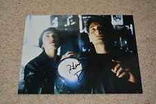 DAVID DUCHOVNY & MICHELLE FORBES signed Autogramm 20x25 cm In Person KALIFORNIA