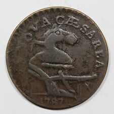 1787 56-N *Struck Over Ct* New Jersey Colonial Coin