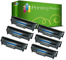 6 Toner Cartridges for HP Laserjet Q2612A 12A 1010 1012 1015 1018 1020 1020 1022