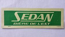 Ancienne affiche publicitaire Bière de la Brasserie SEDAN - G.B.A. Ardennes - 08