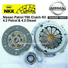 ORIGINAL OEM NKK NIPON 3 PART CLUTCH KIT NISSAN PATROL GR 4.2 Petrol Diesel Y60