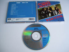 SINNER Wild 'n' Evil CD 1989 MEGA RARE OOP ORIGINAL 1st PRESS on KOCH RECORDS!!!