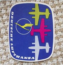 1950's Convair 340 Lufthansa Golden Crane German Airlines Logo Sticker Decal