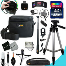 Xtech Accessory KIT for Nikon COOLPIX S9500 Ultimate w/ 32GB Memory + Case +MORE