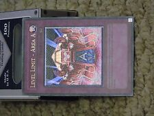 Yu Gi Oh LEVEL LIMIT- AREA A EEN-EN060 1st Ed Ultimate Rare Free Delivery