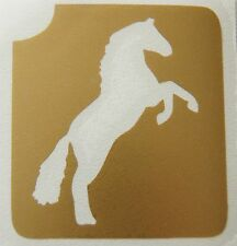 GT7 Body Art Temporary Glitter Tattoo Stencil Horse