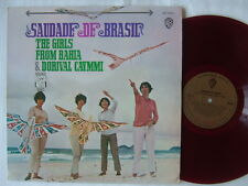 RED VINYL / QUARTETO EM CY THE GIRLS FROM BAHIA DORIVAL CAYMMI SAUDADE DE BRAZIL
