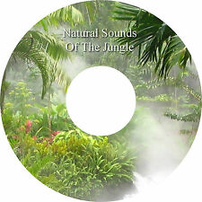 Natural Sounds Of The Jungle CD -  Relaxation Deep Sleep Healing Stress Relief