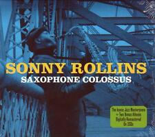 SONNY ROLLINS - SAXOPHONE COLOSSUS (NEW SEALED 2 CD)