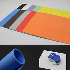 New Super Thin Slim Gel Silicone Mouse Pad Mat Mats For Pc Laptop Medium Size