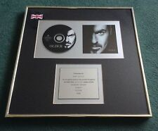 RARE - GEORGE MICHAEL GENUINE 'OLDER' - 1996 PLATINUM 'IN HOUSE' AWARD