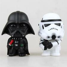 2pcs Star Wars Classic Stormtrooper Darth Vader Action Figures Toy Collection