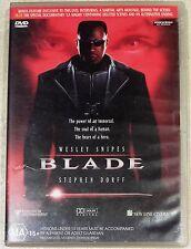Blade (Wesley Snipes & Steven Dorff) DVD (Region 4 PAL)