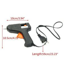 US Plug Electric Heating Hot Melt Glue Gun Sticks Trigger Art Craft RepairTool