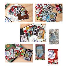 100PCS Graffiti Poster Pattern Film Sticker For FujiFilm Instax Mini 8 7s 25 50s