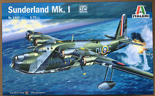 Italeri 1302 Sunderland Mk.1 Aircraft Kit 1/72 Model Kit NIB