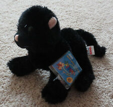 Ganz Webkinz Black Cat with Sealed Code HM135