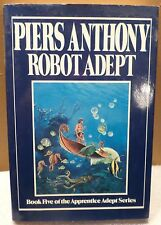 Robot Adept by Piers Anthony Hardcover Book 1988 Ace/Putnam Publishers