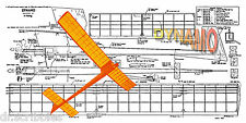 VINTAGE 1962 FREEFLIGHT 1/2 A MODEL AIRPLANE PLANE Digital PLAN & Article