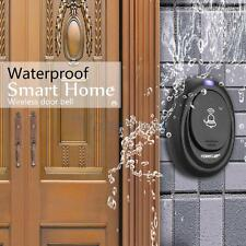 Wireless Digital LED Doorbell Door Bell 36 Chimes 1 Remote 1 Receiver Waterproof