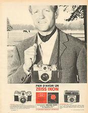 Publicité Advertising 1965  Appareil photo ZEISS IKON