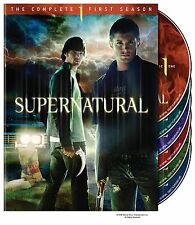 Brand New DVD Supernatural: The Complete First Season (2006) Jared Padalecki