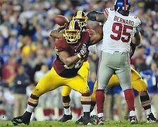 CHRIS CHESTER 8X10 PHOTO WASHINGTON REDSKINS PICTURE NFL FOOTBALL VS GIANTS