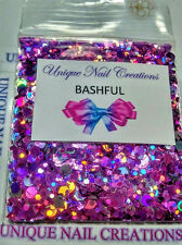 Limited Edition Glitter Mix~BASHFUL* Comes With Alloy~ Nail Art