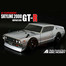 ABC Hobby NISSAN Skyline 2000GT-R KPGC110 190mm Body RC Car Touring Drift #66088
