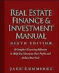 The Real Estate Finance and Investment Manual by Jack Cummings (2008, Paperback)