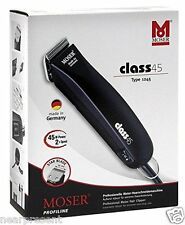 Hair trimmer Moser Clas 45/1245 Cutting head set Power supply worldwide shipment
