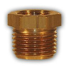 1/2 x 3/8 inch HEX Bushing adapter Brass Pipe Fitting NPT air water gas fuel