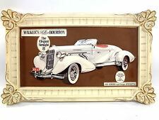 1935 Auburn 851 Speedster Walker's 8 DeLuxe Bourbon 3D Advertising Sales Picture