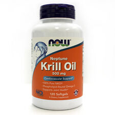 Neptune Krill Oil 500 mg 120 Softgels - NOW Foods