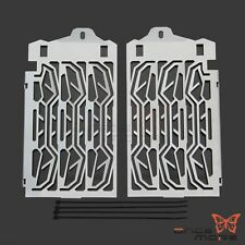 Silver Radiator Grill Cooler Water Cooled Guard Cover For BMW R 1200 GS 2013-16