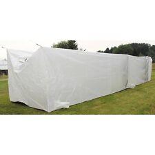 MFH Britisches Zelt Weiß Container-Innenzelt Armeezelt 12x2x2m Neuwertig