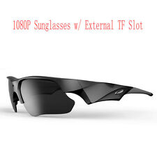 HD 1080P Sunglasses Glasses Camera for Outdoor Action Sports Video 65° Angle