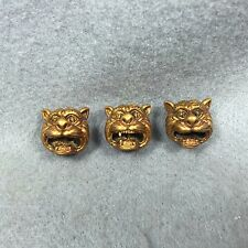 3X Power Magic LOOK OM TIGER Invulnerable Phra LP PERN Wat Bangphra Thai Amulet