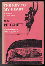 V S Pritchett - The Key To My Heart - 1st/1st 1963 Original Paul Hogarth Jacket